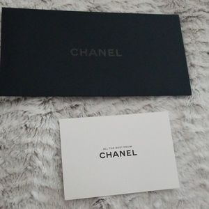 Chanel envelope & note card
